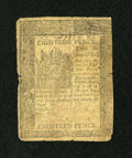 Colonial Notes:Delaware, Delaware May 1, 1777 18d Good....