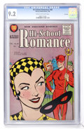 Silver Age (1956-1969):Romance, Hi-School Romance #48 File Copy (Harvey, 1956) CGC NM- 9.2 Cream tooff-white pages....