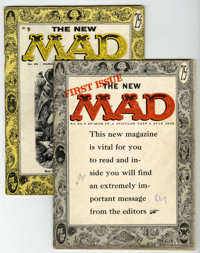 Mad #24 and 25 Group (EC, 1955) Condition: Average VG.... (Total: 2 Comic Books)