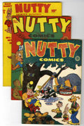 Golden Age (1938-1955):Funny Animal, Nutty Comics #nn and 4-8 File Copy Group (Harvey, 1945-46)Condition: Average FN.... (Total: 6 Comic Books)