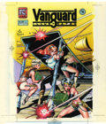 Original Comic Art:Miscellaneous, Dave Stevens Vanguard Illustrated #2 Hand-Colored CoverProduction Original Art (Pacific Comics, 1983)....