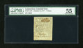 Colonial Notes:Connecticut, Connecticut October 11, 1777 7d PMG About Uncirculated 55....