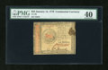 Colonial Notes:Continental Congress Issues, Continental Currency January 14, 1779 $45 PMG Extremely Fine 40....