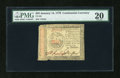 Colonial Notes:Continental Congress Issues, Continental Currency January 14, 1779 $35 PMG Very Fine 20....
