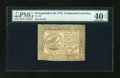 Colonial Notes:Continental Congress Issues, Continental Currency September 26, 1778 $5 PMG Extremely Fine 40EPQ....