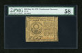 Colonial Notes:Continental Congress Issues, Continental Currency May 10, 1775 $30 PMG Choice About Unc 58....