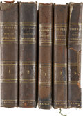 Autographs:Authors, [Lincoln Physician] Robert King Stone Medical Books. Washington,D.C., doctor and educator who was personal physician to the...(Total: 5 Items)