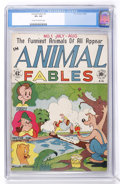 Golden Age (1938-1955):Funny Animal, Animal Fables #1 (EC, 1946) CGC VF+ 8.5 Cream to off-whitepages....