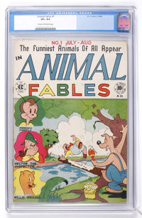 Animal Fables #1 (EC, 1946) CGC VF+ 8.5 Cream to off-white pages