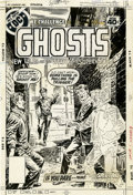 Original Comic Art:Covers, Luis Dominguez Ghosts #75 Cover Original Art (DC, 1979)....