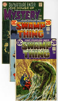 Bronze Age (1970-1979):Horror, Swamp Thing #1-3 Plus Group (DC, 1969-73) Condition: AverageVF+.... (Total: 4 Comic Books)
