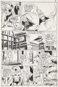 Original Comic Art:Panel Pages, Neal Adams and Dick Giordano Batman #232 Batcave page 3Original Art (DC, 1971)....