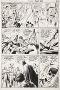 Original Comic Art:Panel Pages, Neal Adams and Dick Giordano Batman #232 page 17 OriginalArt (DC, 1971)....