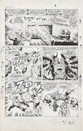 Original Comic Art:Panel Pages, Jack Kirby and Joe Sinnott Fantastic Four #63 page 9 Original Art (Marvel, 1967)....
