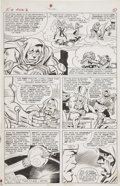 Original Comic Art:Panel Pages, Jack Kirby and Chic Stone Fantastic Four Annual #2 Dr. Doomand Rama Tut Time-Travel Paradox page 5 Original Art (...