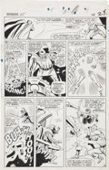 Original Comic Art:Panel Pages, Don Heck and Dick Ayers Avengers #25 page 18 Original Art(Marvel, 1966)....