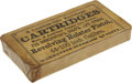 """Military & Patriotic:Civil War, Original Unopened Pack: """"6 Combustible Envelope Cartridges Made of American Powder Co.'s Powder for Remington's, Colt's and Ot..."""