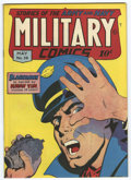 Golden Age (1938-1955):War, Military Comics #39 San Francisco pedigree (Quality, 1945) Condition: VF/NM....
