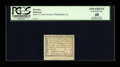 Colonial Notes:Pennsylvania, Philadelphia, PA- Bank of North America 1d Aug. 6, 1789 PCGSApparent Extremely Fine 40. ...