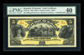 Large Size:Demand Notes, $5 Republic of Hawaii Gold Certificate 1895 (1899) Pick 6b PMGExtremely Fine 40....