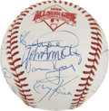 Autographs:Baseballs, 1989 National League All-Stars Team Signed Baseball....