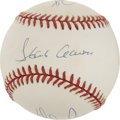 "Autographs:Baseballs, ""The Kings"" Multi-Signed Baseball with Ryan, Aaron and Rose. ..."