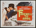 "Movie Posters:War, A Farewell to Arms (20th Century Fox, 1958). Lobby Card Set of 8 (11"" X 14""). War.... (Total: 8 Items)"