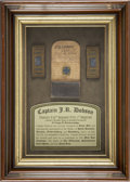 "Military & Patriotic:Civil War, Personal Effects of Captain John R. Dobson, Co. ""G"", 30th PA Vols. (1st Reserves), includes two infantry captain shoulder st..."