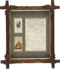 Military & Patriotic:Civil War, Union Major General Daniel E. Sickles Autograph Note Signed, ...