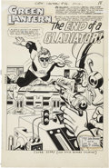 Original Comic Art:Splash Pages, Gil Kane and Sid Greene Green Lantern #46 Splash Page 1Original Art (DC, 1966).... (Total: 2 Items)