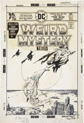 Original Comic Art:Covers, Ernie Chan Weird Mystery Tales #23 Cover Original Art (DC,1975)....