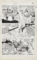 Original Comic Art:Panel Pages, Jack Kirby and Joe Sinnott Fantastic Four #63 page 10Original Art (Marvel, 1967)....