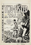 Original Comic Art:Covers, Harvey Kurtzman Two-Fisted Tales #20 Cover Original Art (EC,1952)....