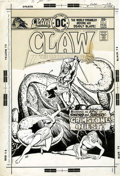 Original Comic Art:Covers, Ernie Chan Claw the Unconquered #5 Cover and 7-page GroupOriginal Art (DC, 1976).... (Total: 8 Items)