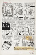 Original Comic Art:Panel Pages, Jack Kirby and Dick Ayers Avengers #1 The Defeat of Loki andthe Naming of the Avengers page 22 Original Art (Marv...