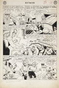 Original Comic Art:Panel Pages, Sheldon Moldoff and Charles Paris Batman #154 page 2Original Art (DC, 1963)....