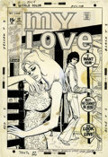 Original Comic Art:Covers, John Romita Sr. My Love #12 Cover Original Art (Marvel,1971)....