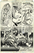 Original Comic Art:Panel Pages, John Romita Jr. and Bob Layton Iron Man #120 page 31Original Art (Marvel, 1979)....