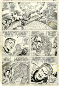 Original Comic Art:Panel Pages, Jack Kirby and Joe Sinnott Fantastic Four #98 page 16Original Art (Marvel, 1970)....