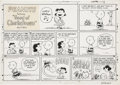 Original Comic Art:Comic Strip Art, Charles Schulz Peanuts Sunday Comic Strip Original Art, dated 9-29-68 (United Feature Syndicate, 1968)....