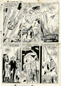 Original Comic Art:Panel Pages, John Romita Sr., Don Heck, and Mike Esposito The AmazingSpider-Man #60 page 17 Original Art (Marvel, 1968)....