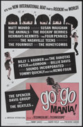 "Movie Posters:Rock and Roll, Go Go Mania (American International, 1965). One Sheet (27"" X 41"").Rock and Roll...."
