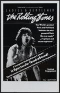 "Movie Posters:Rock and Roll, Ladies and Gentlemen: The Rolling Stones (Dragon Aire, 1973).Poster (24"" X 38""). Rock and Roll...."