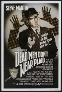 "Dead Men Don't Wear Plaid (Universal, 1982). One Sheet (27"" X 41""). Comedy"