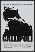 "Movie Posters:War, Gallipoli (Paramount, 1981). One Sheet (27"" X 41""). War...."