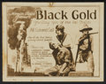 """Movie Posters:Black Films, Black Gold (Norman, 1928). Lobby Card Set of 8 (11"""" X 14""""). BlackFilms.... (Total: 8 Items)"""