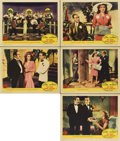 "Movie Posters:Comedy, You Were Never Lovelier (Columbia, 1942). Lobby Cards (5) (11"" X 14"").... (Total: 5 Items)"