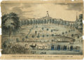 "Antiques:Posters & Prints, ""View of the Grand Mass Washingtonian Convention on Boston Common,on the 30th of May, 1844"" Lithograph. ..."