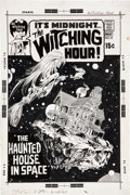 Original Comic Art:Covers, Neal Adams The Witching Hour #14 Cover Original Art (DC,1971). ... (Total: 2 Items)