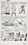 Original Comic Art:Panel Pages, Jack Kirby and Paul Reinman X-Men #1 Angel page 17 OriginalArt (Marvel, 1963)....